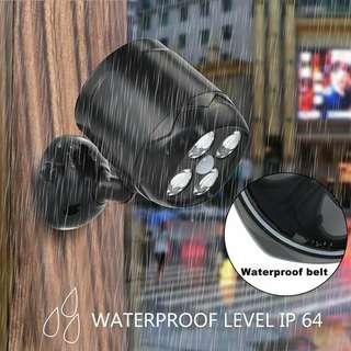 TTMOW 600-Lumen Motion Sensor Security Lights, Waterproof Battery Powered Lights