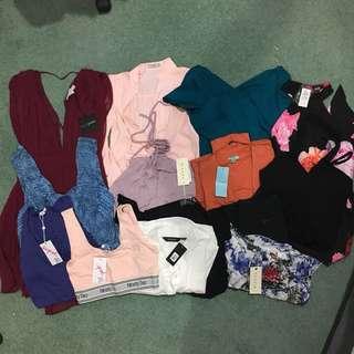 BULK DEAL (14 items) dresses + tops