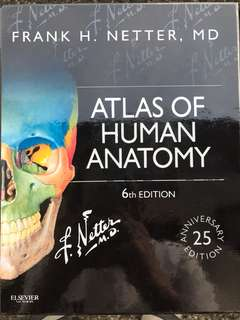 Netter Atlas of Human Anatomy (6th Ed)