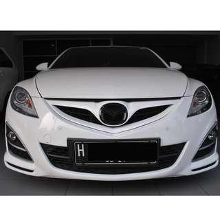 Mazda 6 2.5 AT 2011 Warna Putih   Unrivaled Revolution Of Sedan