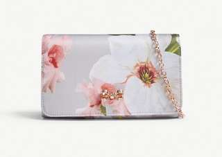 Ted Baker Melodie floral print cross body bag