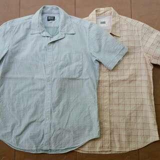 Combo takeo kikuchi collar shirt