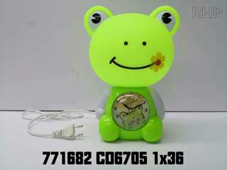 Cute design Table Lamp with Clock