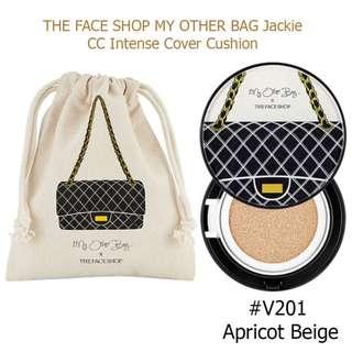 BN The Face Shop CC Intense Cover Cushion + Refill