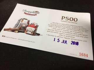 Doughnut Bags Php500 Off Voucher