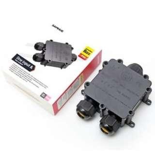 🚚 1011. SAMHUE Junction Box IP68 Waterproof 3 Way Cable Connectors Outdoor
