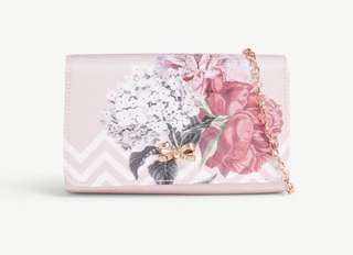 Ted Baker Sophh palace gardens canvas clutch