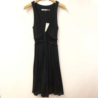 斯文裙 DVF black vest dress size 0