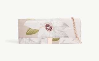 Ted Baker Korri chatsworth bloom jacquard clutch