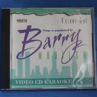 Classic Karaoke VCDs - Barry Manilow Vol. 1 & 2