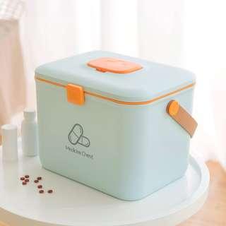 563. First aid Medicine Box (2 colours)