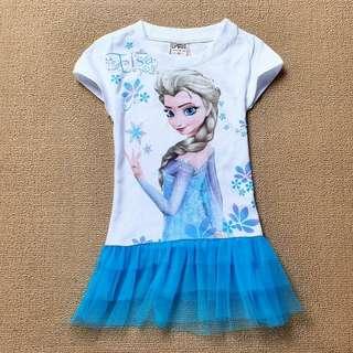 New Girl Frozen Elsa Tee 全新女童冰雪奇緣T恤 Age 2