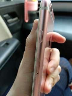 Iphone rose gold 128 giga