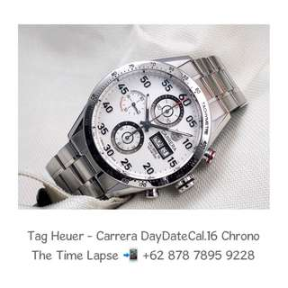 Tag Heuer - Carrera Day Date Cal.16 White Dial Chronograph