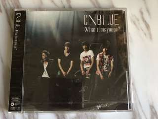 Cnblue What's turn you on?初回限定a盤 cd+dvd