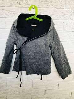 Boys or girls quilt like wrap jacket