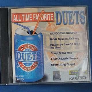 Original VCD Karaoke - All Time Favorite DUETS