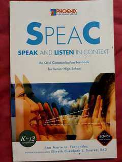 Oral Communication Textbook