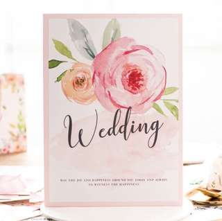 Wedding Guests Book Flamingo with Free Ribbon! | Guest Book | Guestbook