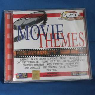 Assorted Original VCD Karaoke - Movie Themes