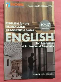 ENGLISH for Academic & Professional Purpose