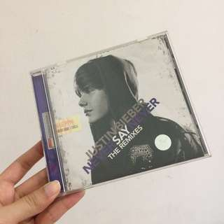 Justin bieber never say never cd indonesia ed original
