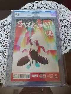 Spider Gwen 1 CGC 9.8