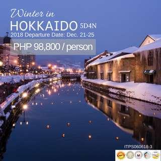 5D4N Winter in Hokkaido