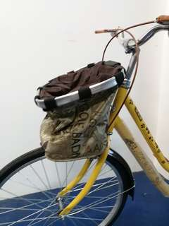 Bicycle Basket for Puppy