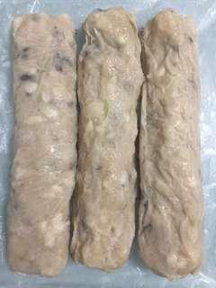 深海魚製作的魚肉卷.魚肉圓