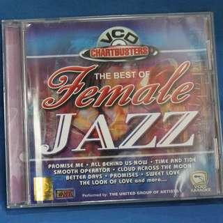 Assorted Original VCD Karaoke - Jazz (women)