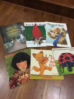 Children Books 6 for $10