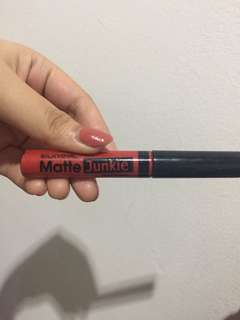 Silky girl matte lipstick junkie