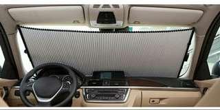 汽車隔熱防晒器~自動伸缩吸盤式(高級款)