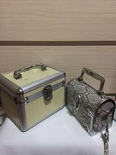 vintage style hard case bag