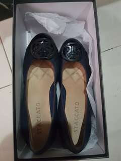Preloved wedges staccato navy