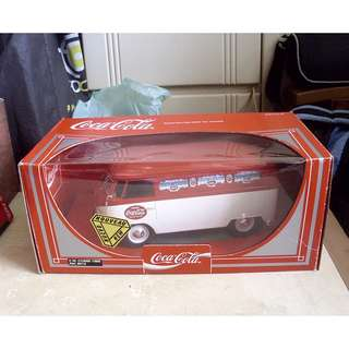 """96年產品可口可樂V.W.Combi 1956款8""""長小型汽車一架"""