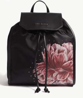 Ted Baker Tranquility print faux leather Backpack