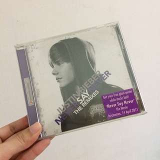 Justin bieber never say never cd import singapore