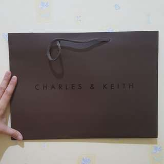 Paper Bag / Paperbag Charles & Keith Original