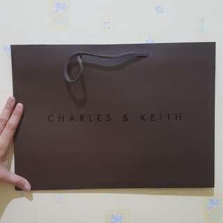 Paper Bag / Paperbag Charles & Keith Original