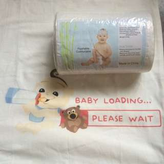 Flushable/Disposable Liners for Cloth Diaper