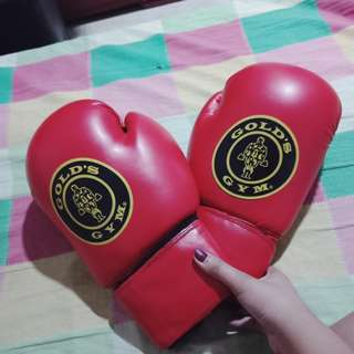 Boxing Gloves w/ bandage