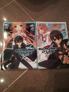 Sword art online books, number 1 is in malay language