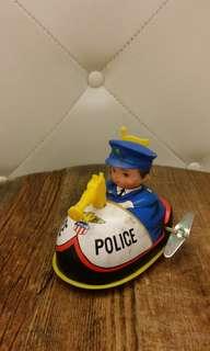 香港經典鐵皮玩具警車