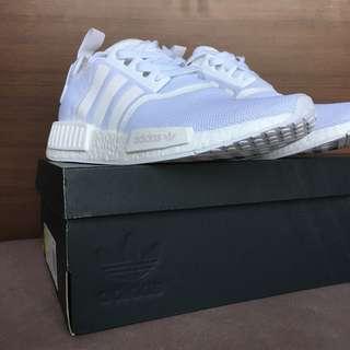 Adidas Originals NMD_R1 Running White Ftw / Running White / Running white (BA7245)