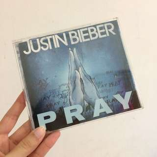 Justin bieber pray special edition japan cd album