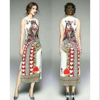 Queen of Hearts Maxi Dress