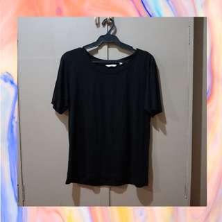 Uniqlo Basic Black Shirt