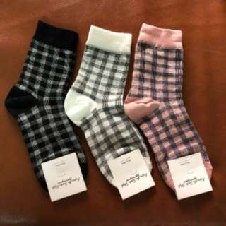 Checkered Iconic Socks